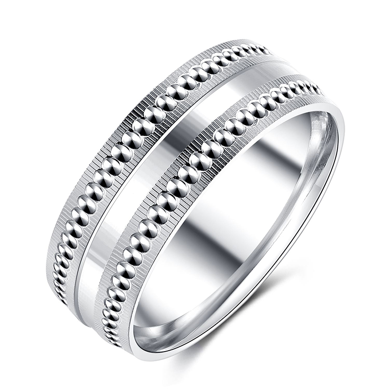 925 Sterling Silver Plain Band Ring