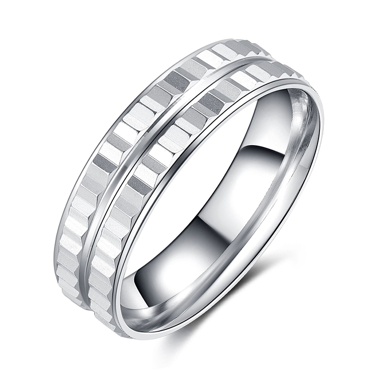 925 Sterling Silver Plain Classic  Band Ring for M...